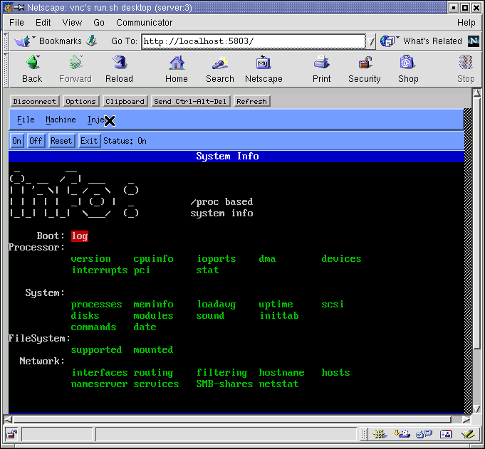MuLinux Home Site: Running Lepton in a windows